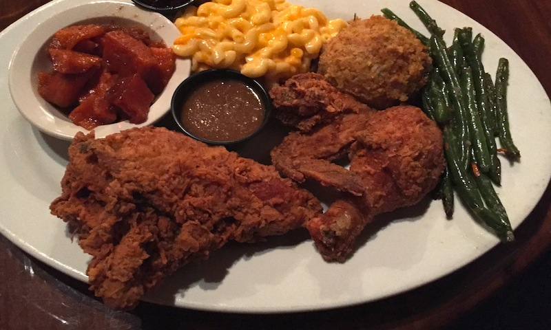 A hearty portion of fried chicken fit for a king awaits at Paschal's.