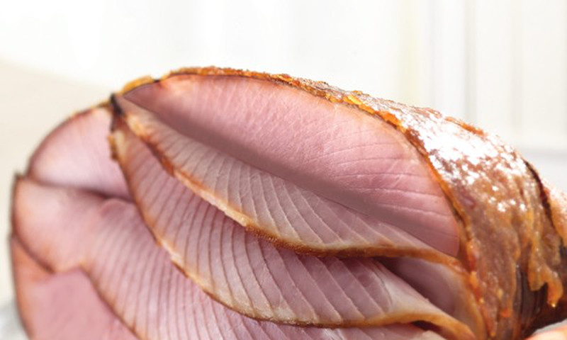 Another local company, HoneyBaked Ham, offers its signature spiral cut ham as well as platters.
