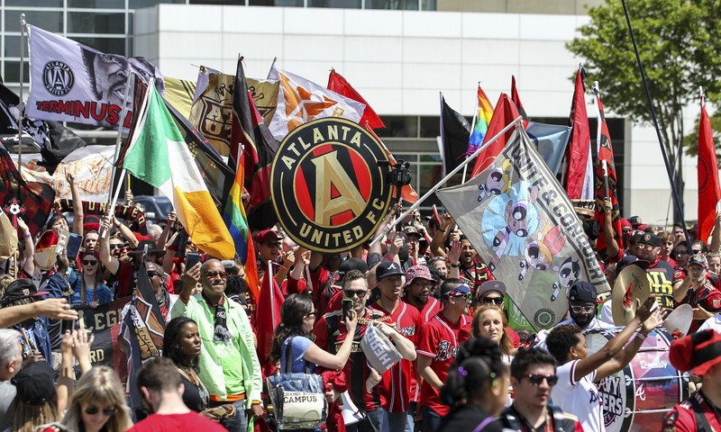 Get ready to cheer team on at the MLS Cup. (Image Courtesy of Atlanta United)