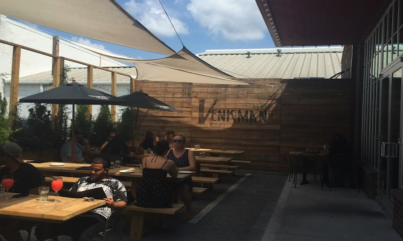 Listen to the band inside or dine on the patio at Venkman's.