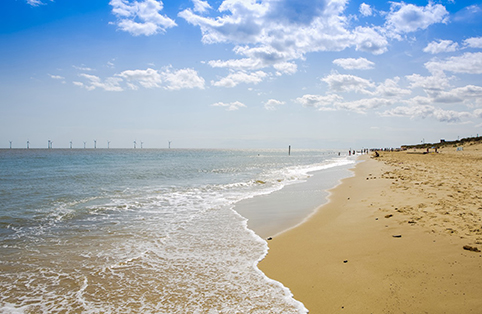 Beach at Great Yarmouth