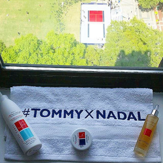 #TommyXNadal #usopenhair<br /><br /> #bts as the Official Stylists of the #usopen<br /><br /> Enter to WIN 2 tickets to the #usopen plus sporty hair kit: bit.ly/usopenhair<br /><br /> #usopenhair #tennis #nadal #rafaelnadal #tommyhilfiger #julienfarel #usopen2015 #tennislovers #hairstyle #hairproducts #sportyhair #style