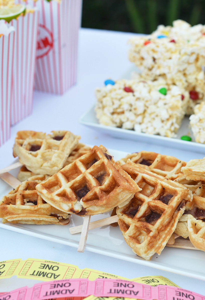 Corndog Waffles Recipe