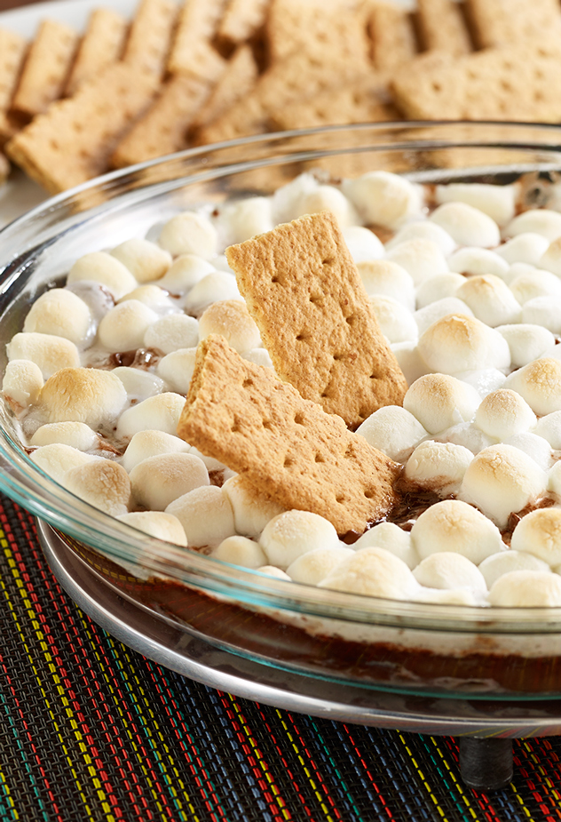 Chocolate Pudding S'mores Dip Recipe