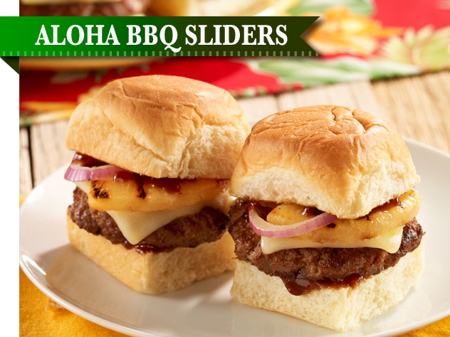 Aloha BBQ Sliders Recipe