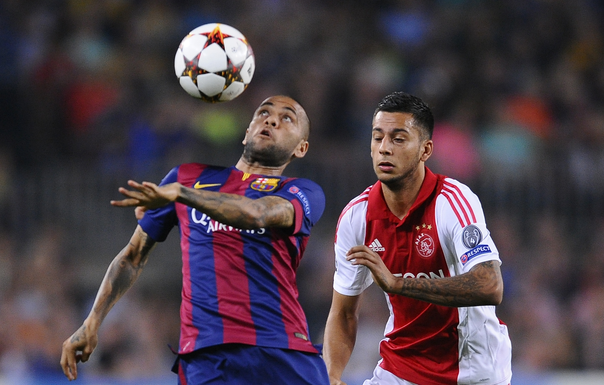 Alves speaks out over Man United switch